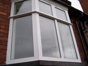 Double glazed, traditional casement, bay window