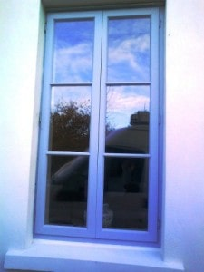 bespoke wooden window in Belfast
