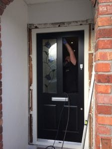 fitting a bespoke front door