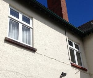 New, painted hardwood, double glazed, replacement traditional casement windows in Greenisland Co Antrim