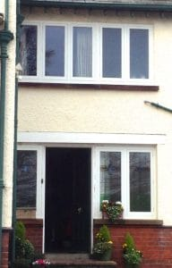New replacement, double glazed, traditional casement windows in Greenisland Co Antrim